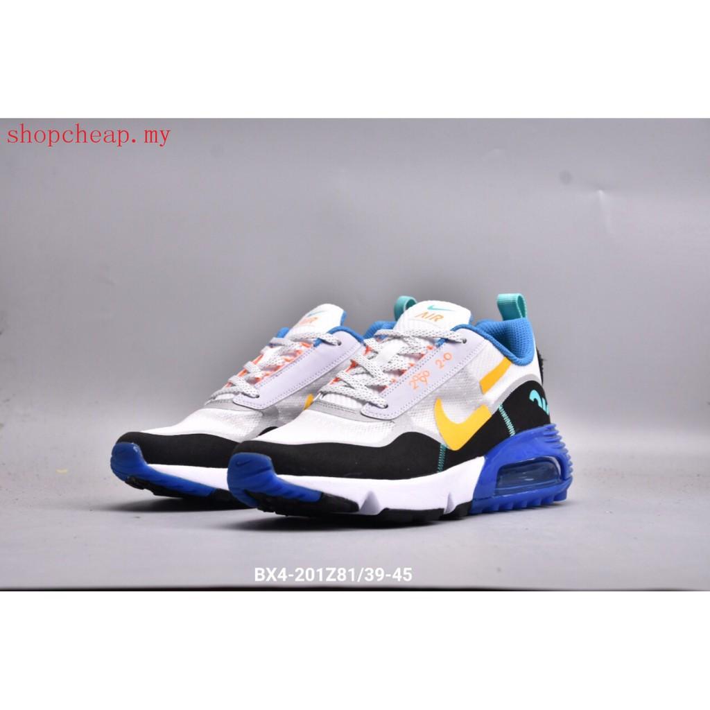 original nike air max 2090 2 . 0 รองเท้ากีฬาแฟชั่นสีขาว/สีฟ้า