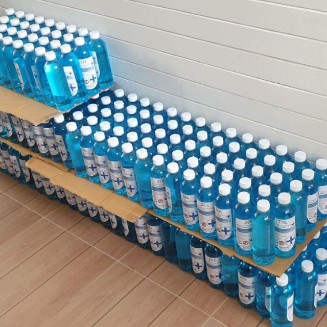 แอลกอฮอล น้ำและเจลล้างมือฆ่อเชื้อ ขนาด 500 ml. 1000 ml  3700 ml  5000 ml