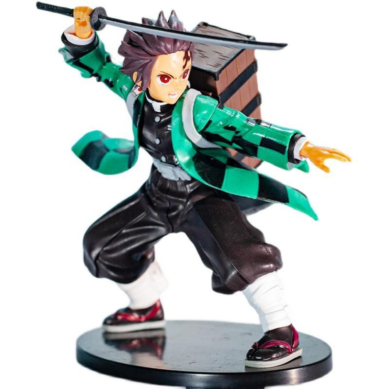❁Demon Slayer Kadomon Tanjiro กล่องหลัง SPM Boxed Figure Model