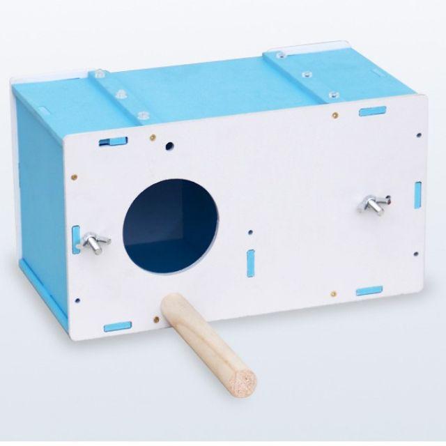 กล่องเพาะพันธุ์รังนกกล่องนกแก้วขนาดเล็ก