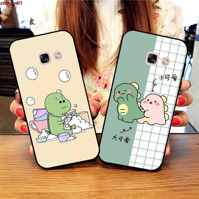 Samsung A3 A5 A6 A7 A8 A9 Pro Star Plus 2015 2016 2017 2018 HKLLY Pattern-4 Silicon Case Cover
