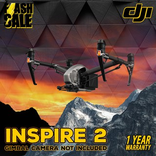 Review DJI Inspire 2 โดรนบังคับ, Dual Battery Design, Film Making Professional Drone,Camera Excluded (มีใบอนุญาต)