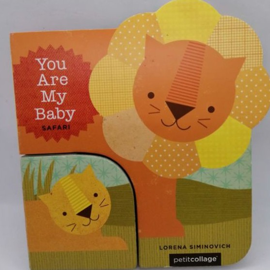 You Are My Baby: Safari -Board books , 2 books in 1 - 58