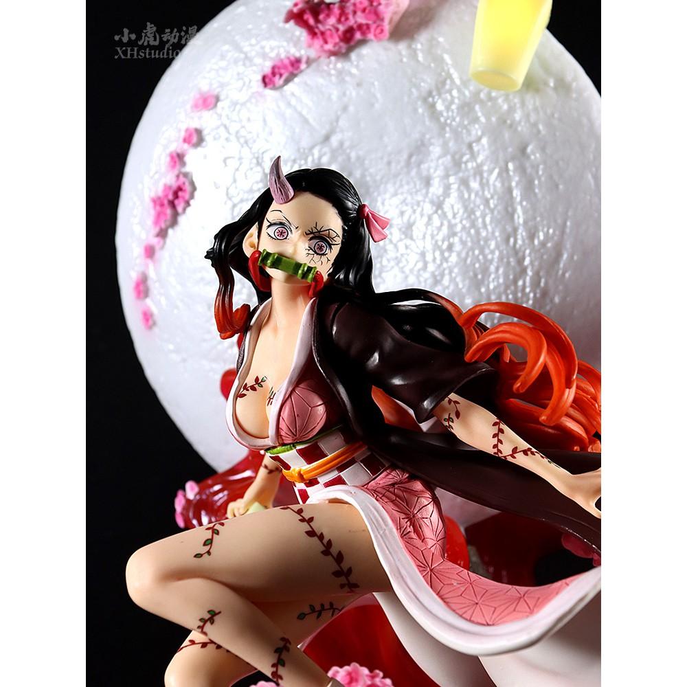 โมเดลดาบพิฆาตอสูร  ตุ๊กตาอนิเมะ42Cm Demon Slayer Kamado Nezuko vc Action Figure Kochou Shinobu Collection Model Anime Gh
