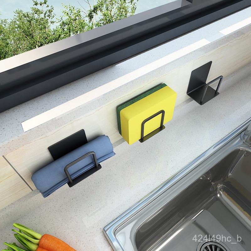 ห้องครัวใส่น้ำยาล้างจานน้ำยาล้างจานฟองน้ำเก็บ洗水槽ถุงมืออุปกรณ์ทำความสะอาดบ้านDaquanเครื่องครัวเหล็กชั้น