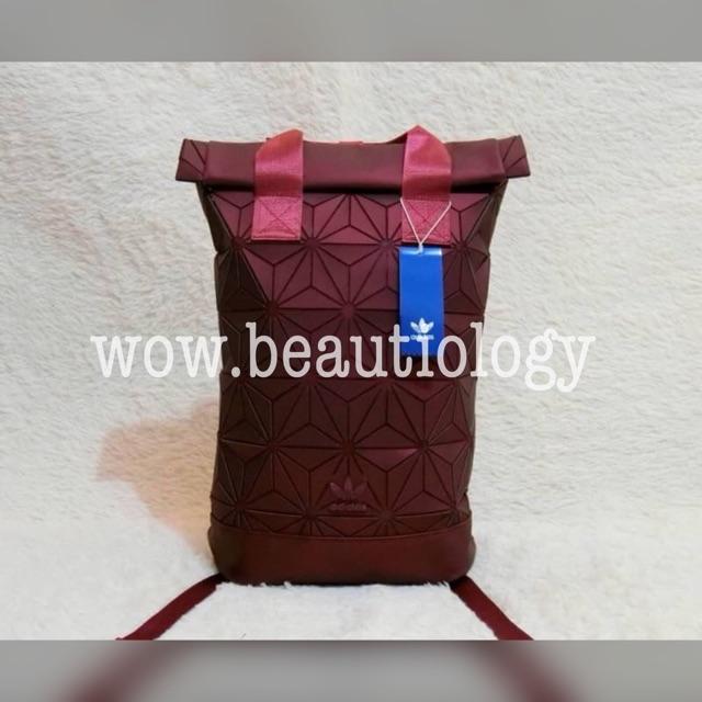 กระเป๋าเป้สะพายหลัง Adidas Originals BP Roll Top 3D Mesh 2017  Backpack Bag DH0100