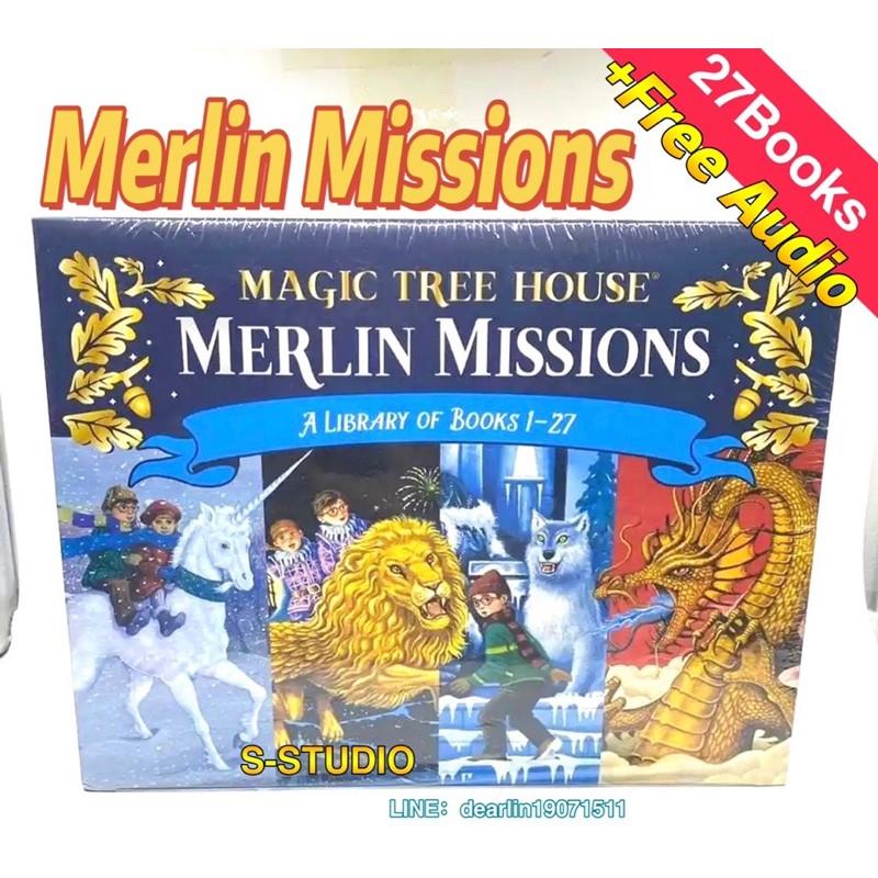 Merlin Missions 27books Magic Tree House 32books หนังสือภาษาอังกฤษ NRsa