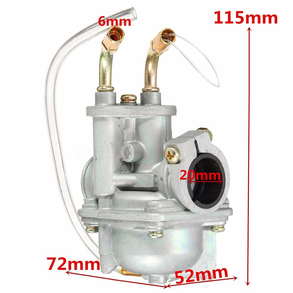 Carburetor for Yamaha PW50 PW 50 PW-50 Y-Zinger 1981 1982 1983 1984 1985 1986
