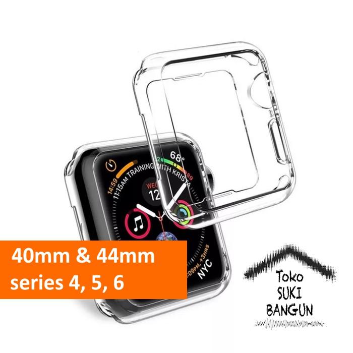 เคสยางซิลิโคนกันชน Apple Watch Case Series 6 5 4 40mm 44mm