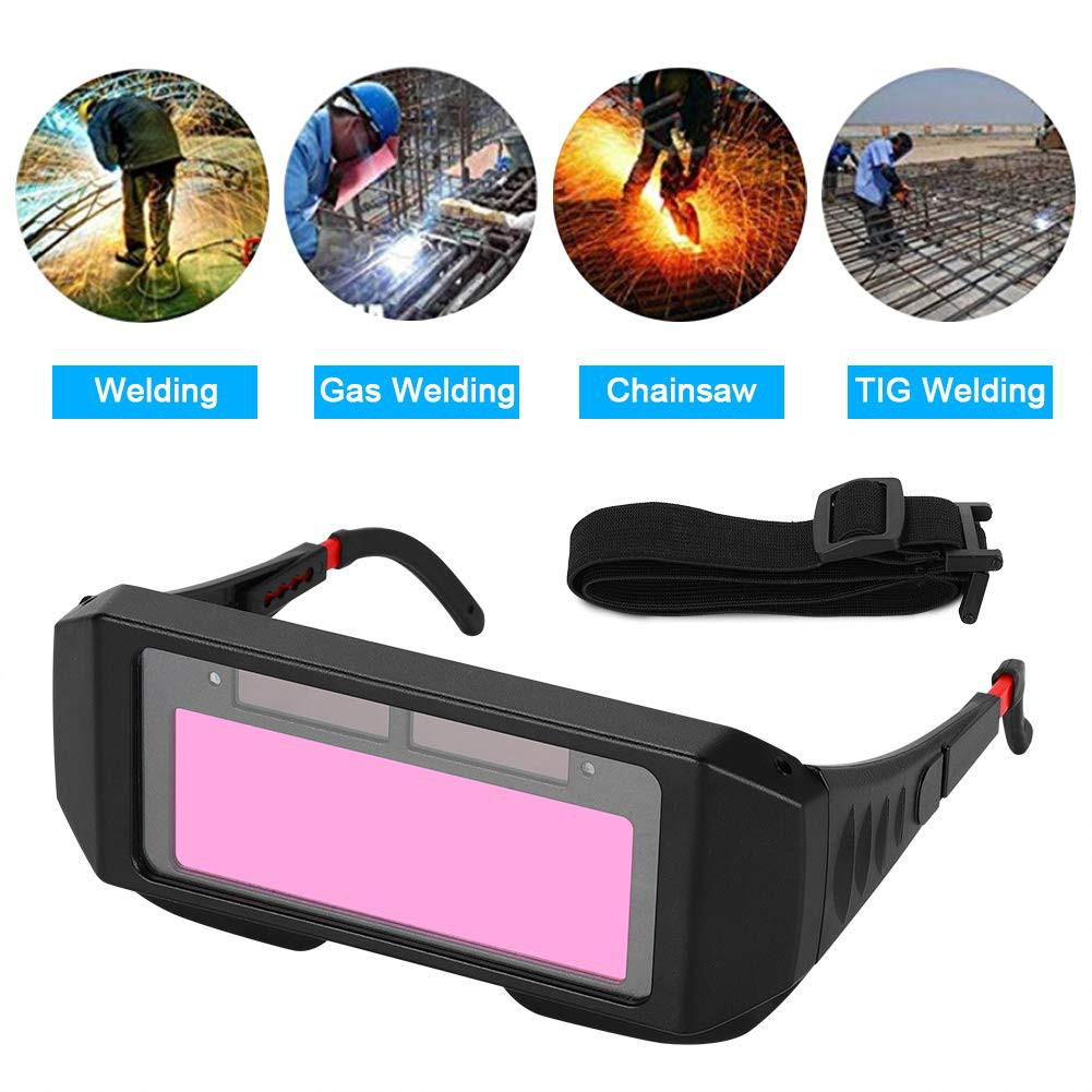 Welder Eyes Glasses Solar Auto Darkening Welding TIG MIG Goggles Welder Eyes Glasses