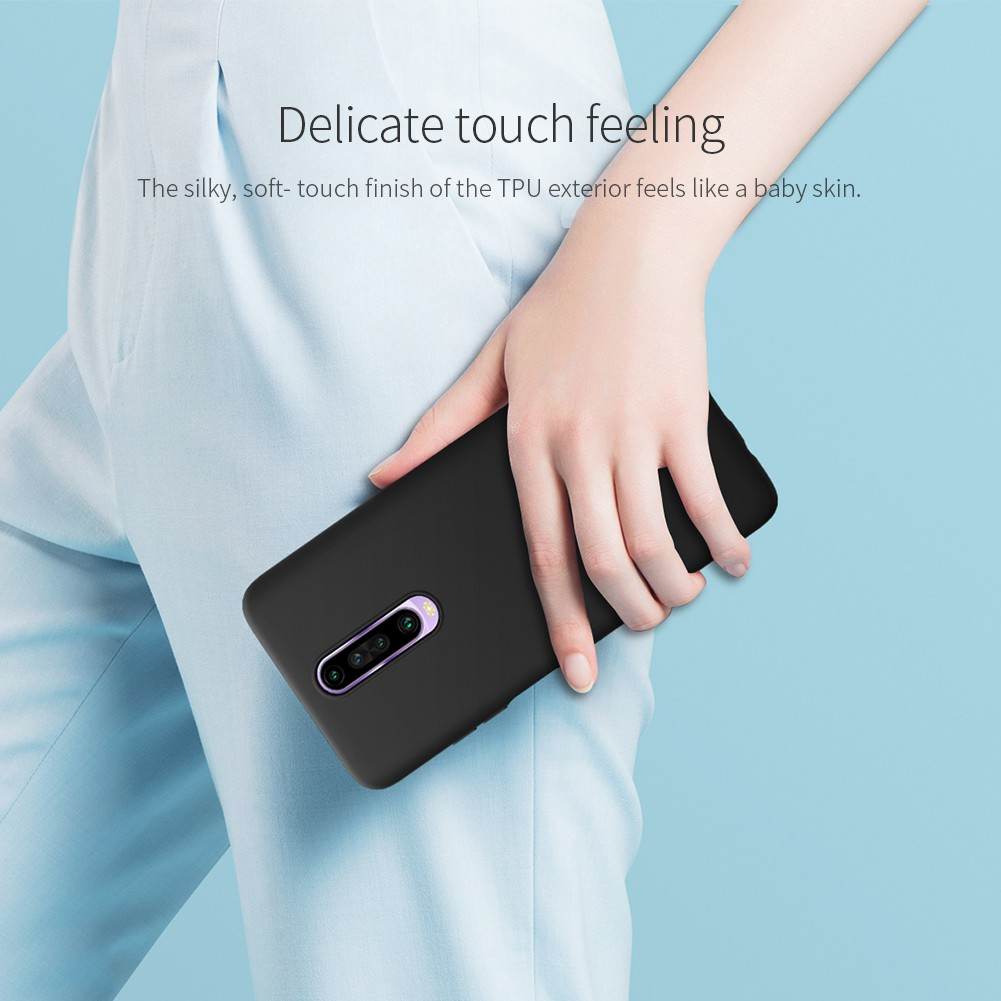 Image # 1 of Review [Xiaomi] เคส Nillkin Rubber Case Xiaomi Redmi K30 / Redmi Note 8 / Redmi Note 8 Pro / Redmi Note 7
