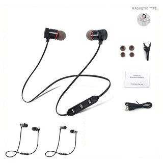 8045e28dc66 2018 New Metal Sports Wireless Bluetooth Earphone Stereo Headset | Shopee  Thailand