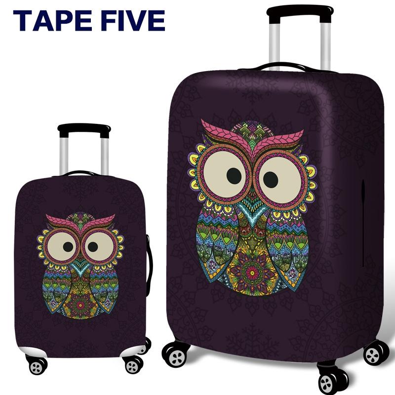 ผ้าคลุมกระเป๋าเดินทาง หนาสีฟ้า กระเป๋าเดินทางกระเป๋าเดินทางสำหรับกรณีใช้ 19 ''-32'' กระเป๋าเดินทาง