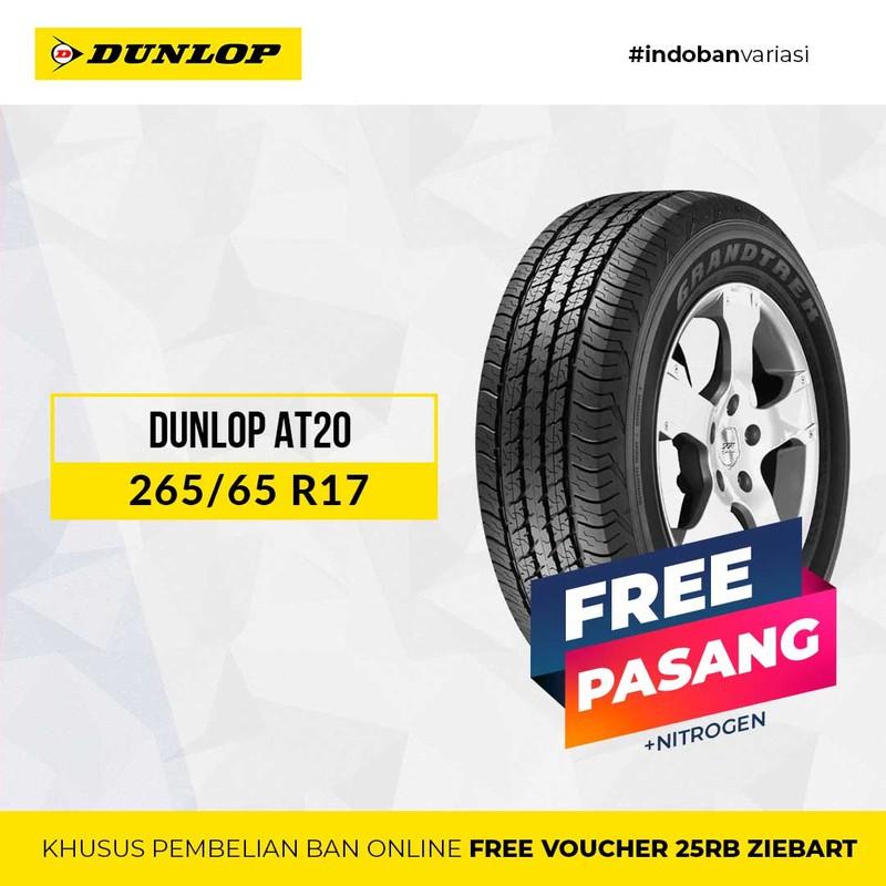 Dunlop At20 265 / 65 Sr17 R17 ชุดอุปกรณ์เสริมสําหรับคอมพิวเตอร์