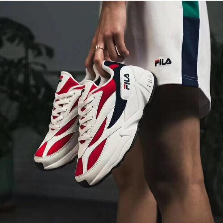 Fila รองเท้ากีฬารองเท้าวิ่งสำหรับผู้ชายและผู้หญิง