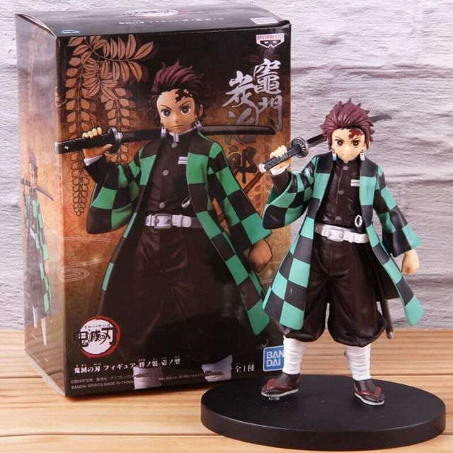 Demon Slayer: Kimetsu No Yaiba Kamado Tanjirou Kamado Tanjirou Figures PVC Action Figure Collection Model Toys