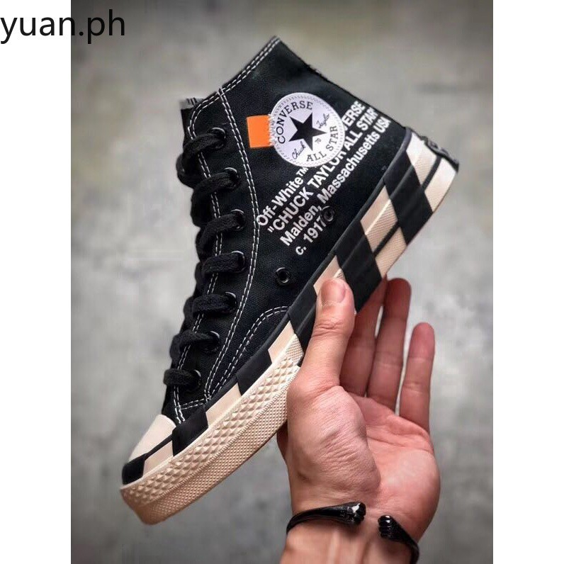 FAST SHIPPINGFF WHITE x Converse Chuck Taylor All Star 70 Hi by Virgil s2