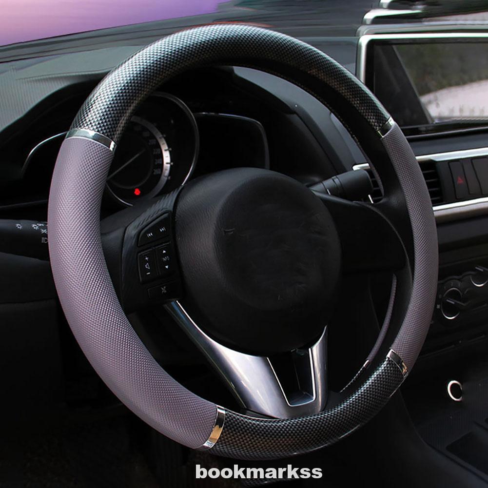 Soft Silicone Car Steering Wheel Cover Non-slip Car Decoration Steering Wheel Cover