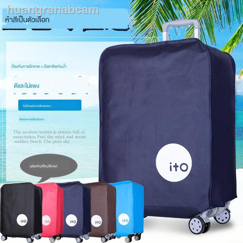 ♗┇✧ฝาครอบป้องกันกระเป๋าเดินทาง 28 suitcase dust cover 20 trolley case 24 inch 26 thick waterproof bag