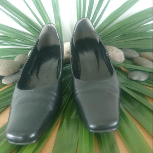 รองเท้าคัชชูสีดำWashington