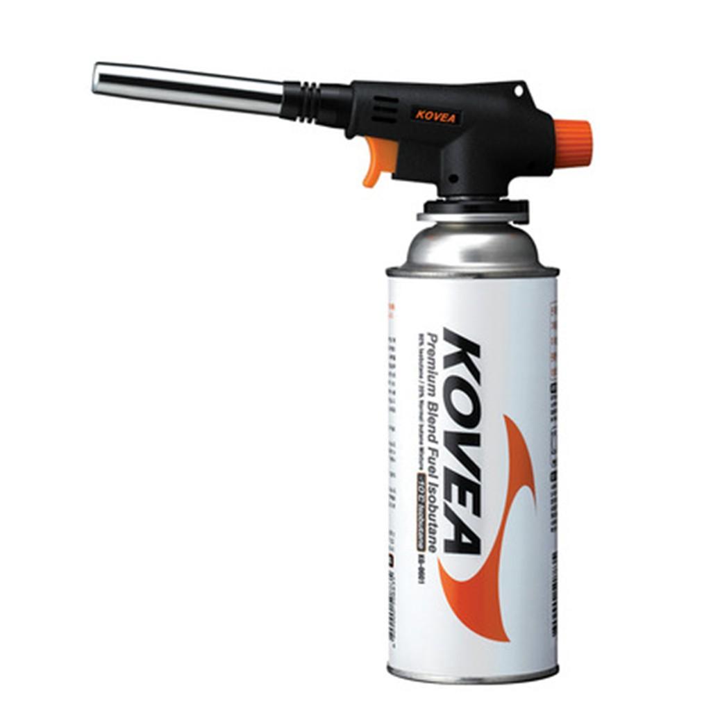 KOVEA หัวเชื่อมประสาน-พ่นไฟ แบบพกพา KT-2904 สำหรับใช้กับแก๊สกระป๋อง (ไม่รวมแก๊สกระป๋อง)