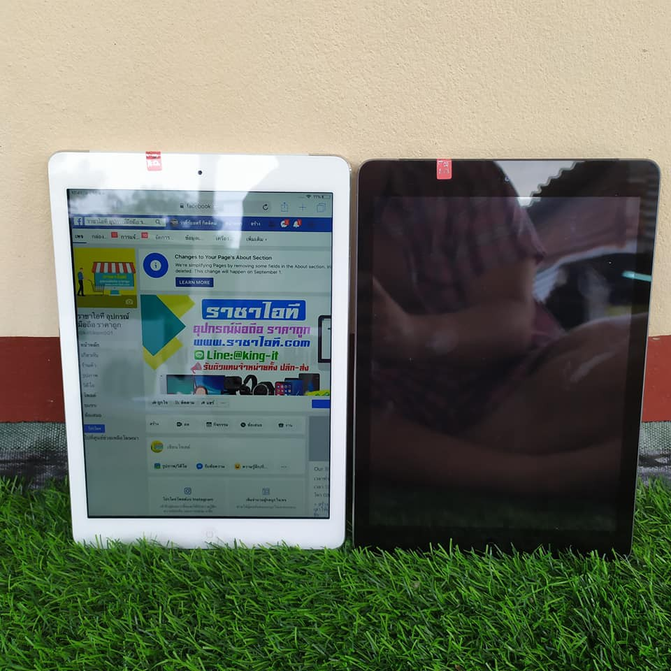 iPad Air1 16GB wifi+cellular ของแท้ มือสอง ครบชุด (ส่งฟรี)