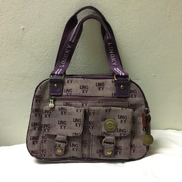 กระเป๋า lingky สีม่วง