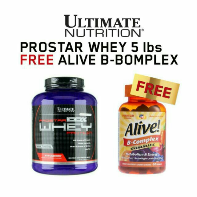 Flash Sale = = Flash Sale ลดเหลือ 1,450.- ULTIMATE NUTRITION 100%whey prostar 5.28 lb