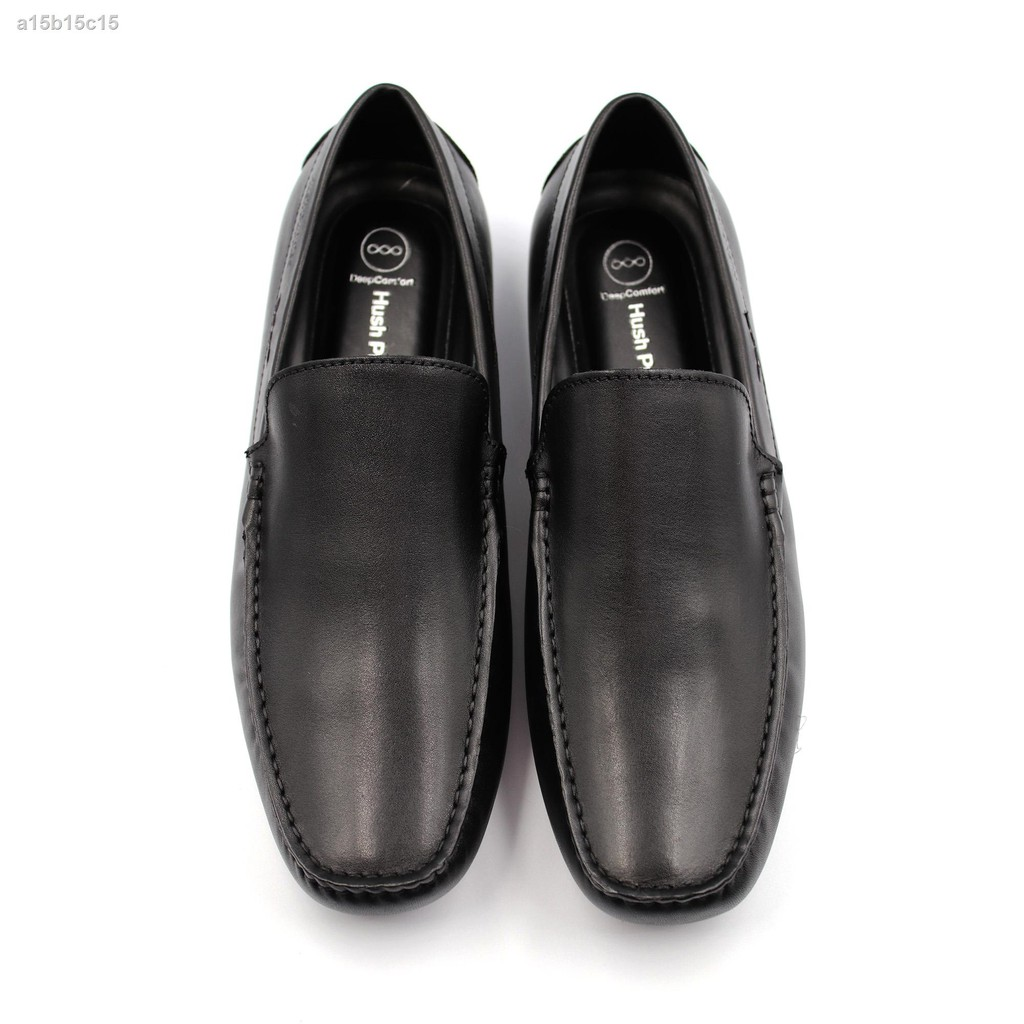 เตรียมส่งของ!☑☬HUSH PUPPIES รองเท้าคัชชูผู้ชายรุ่น HP THCFB46B8A สีดำ