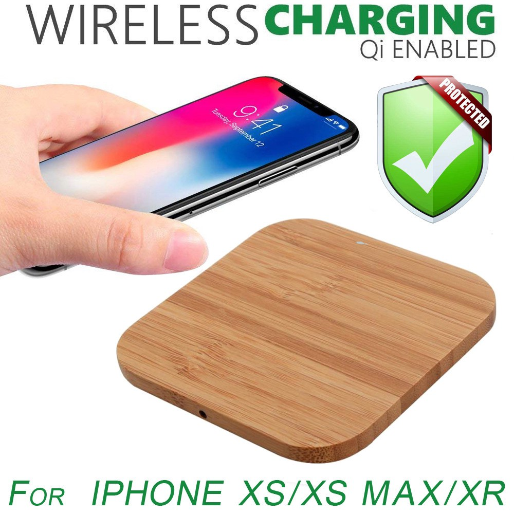 2019 Updated Wireless Charger WC-10 Qi Wireless Charger Pad Compatible with /¡Phone Xs MAX XR X 8 8 Plus 7 7 Plus 6s 6s Plus 6 6 Plus and etc.