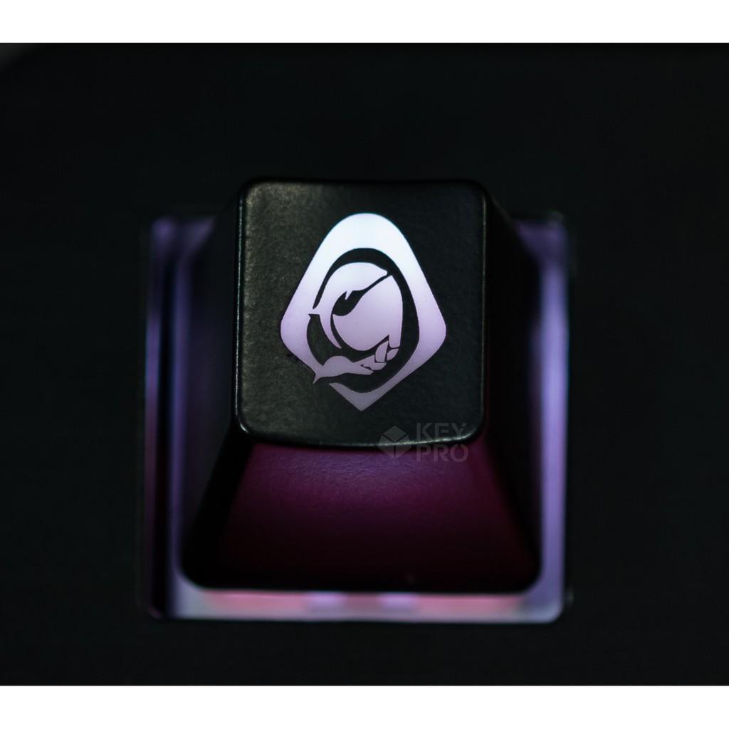 Cheapest Price ปุ่มคีย์แคป (Keycap) ไฟลอด ลาย Ana Overwatch