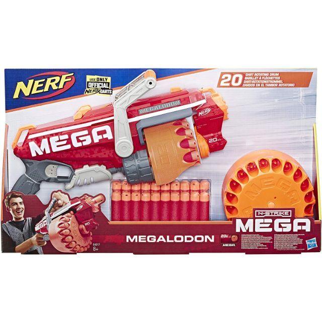 Nerf Mega Megalodon Blaster Gun ปืนเนิร์ฟเมก้า