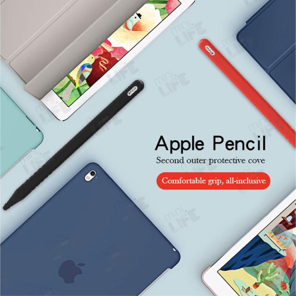 ✅✅✅▧◆[ พร้อมส่ง!! ] เคสปากกา เคสซิลิโคน ปลอกปากกา กันลื่น กันรอย กันกระแทก Apple Pencil 2 case (silicone sleeve)