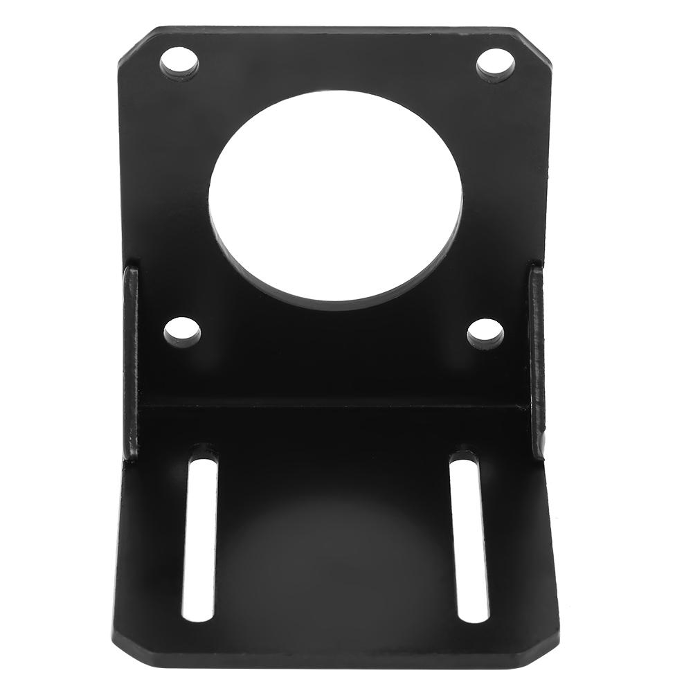 1pc Black Stainless Steel Mounting Bracket Holder Rack for 57 NEMA23 Stepper Motor Bracket for Stepper Motor