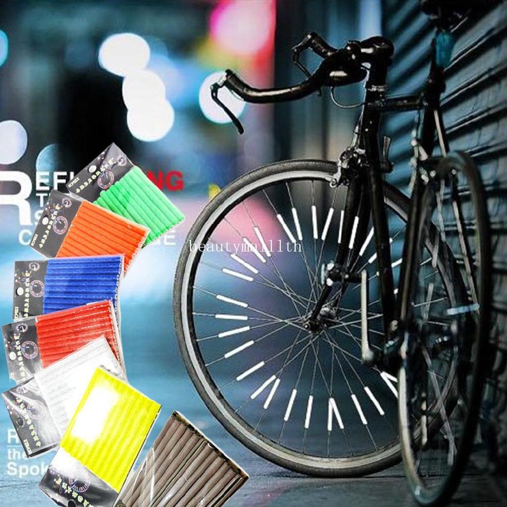 20 LED Cycling Bicycle Bike Rim Lights LED Wheel Spoke Light String Strip LaTC