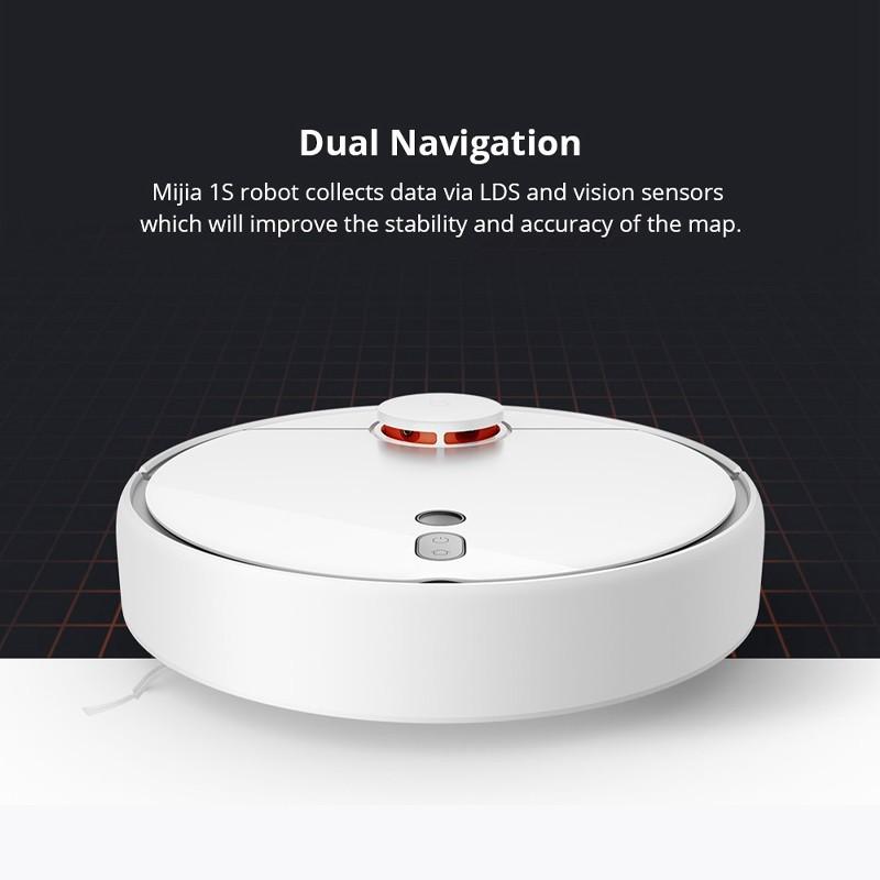 พร้อมส่งl❆№【ราคาพิเศษ】Xiaomi mijia Roborock Vacuum Cleaner 1S หุ่นยนต์ดูดฝุ่น หุ่นยนตร์ทำความสะอาดสามารถถูแล