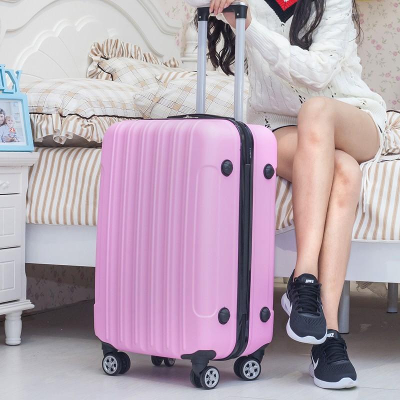 กระเป๋าเดินทางล้อลากขนาด 24 นิ้ว 26 นิ้ว 28 นิ้วมีรหัสผ่านสําหรับผู้หญิง