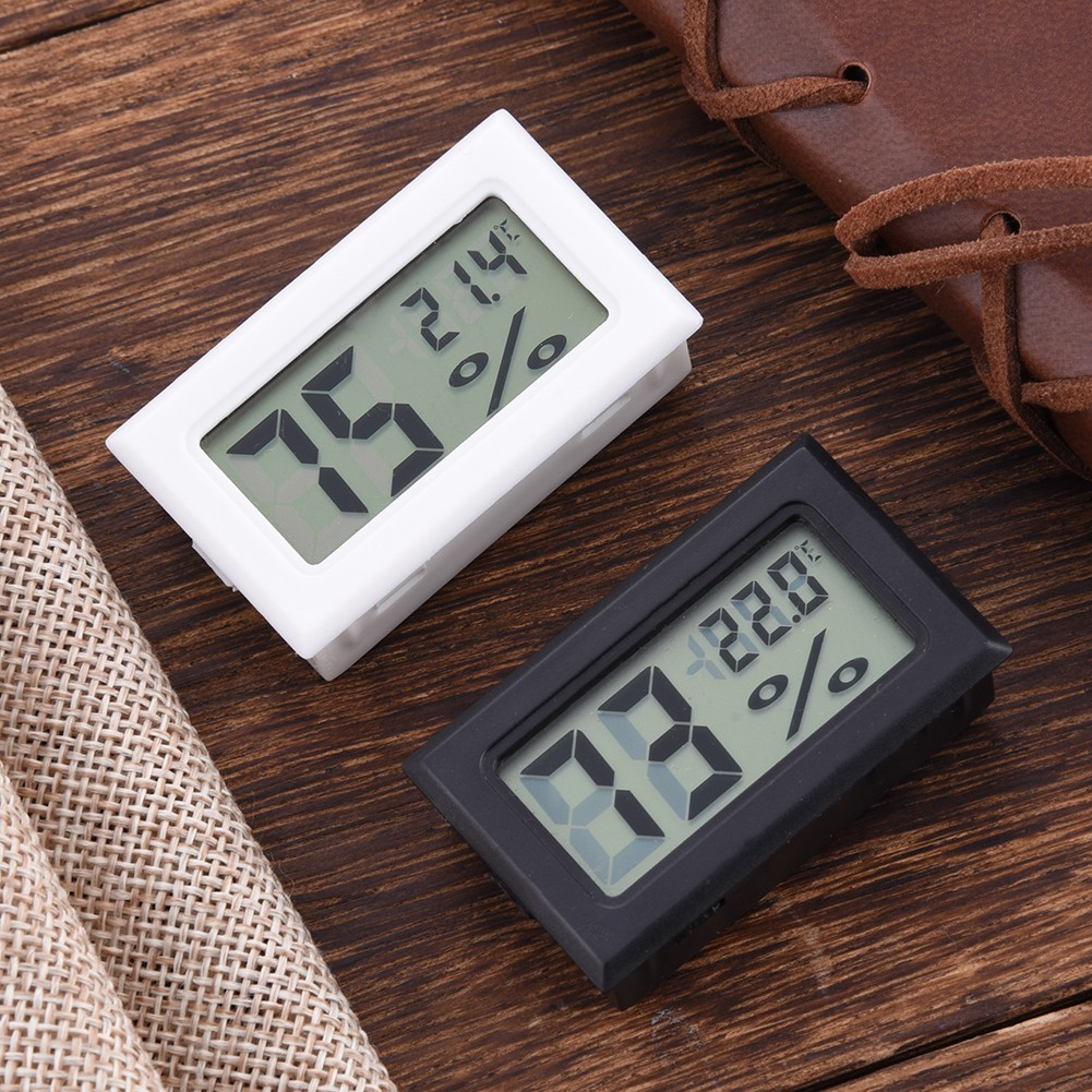 LCD Temperature  Digital Thermometer Hygrothermograph Hygrometer Humidity Meter