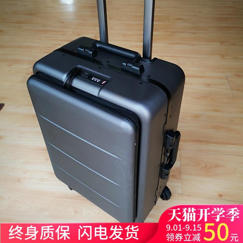 กระเป๋าเดินทางล้อลาก CODกระเป๋าเดินทางธุรกิจ20กรอบอลูมิเนียมล้อสากลรถเข็นหญิง22กระเป๋าใส่คอมพิวเตอร์ด้านหน้าชาย24-กระเป๋