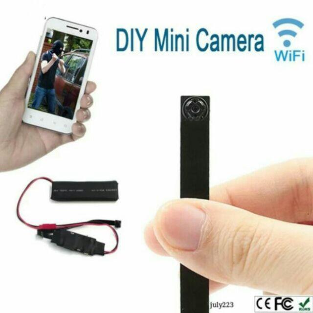 ชัดแจ๋ว!! กล้องวงจรปิด กล้องรูเข็ม IPCamera WiFi ดูผ่านมือถือได้  กล้องจิ๋วwifi กล้องแอบถ่าย กล้องกระดุม ไร้สาย