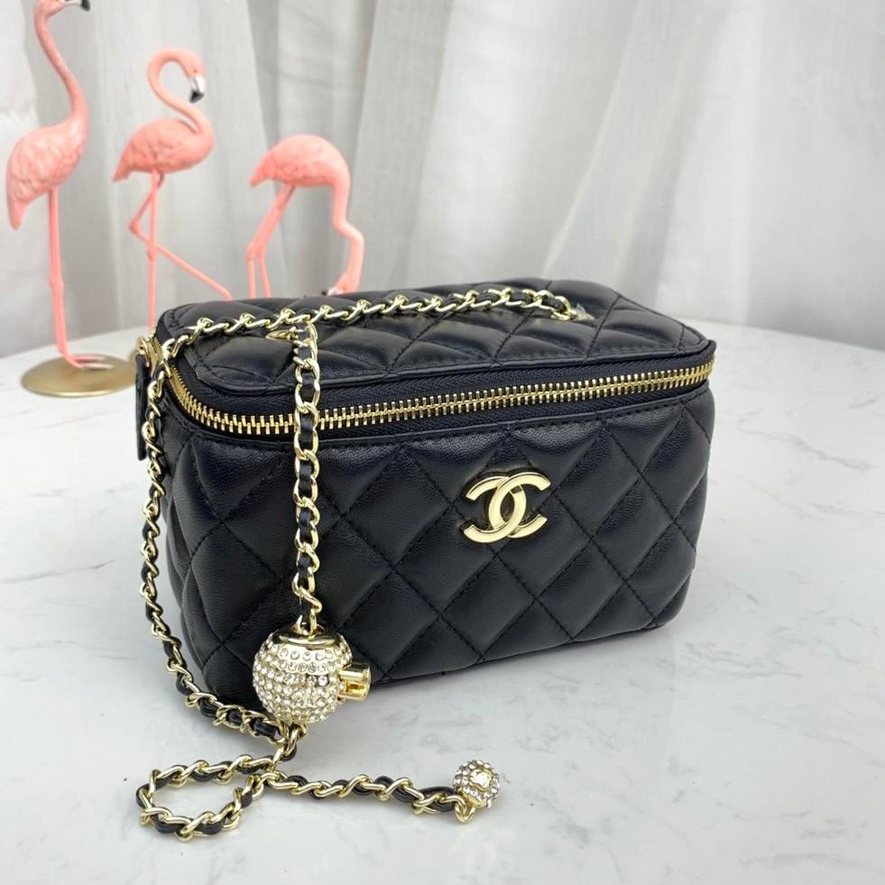 ชาแนล2020 Chanel ฤดูใบไม้ผลิและฤดูร้อนล่าสุดกระเป๋าเครื่องสำอางค์กระเป๋ามินิกระเป๋า