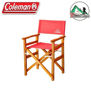 Review เก้าอี้ Coleman Wood Chair Classic Strawberry