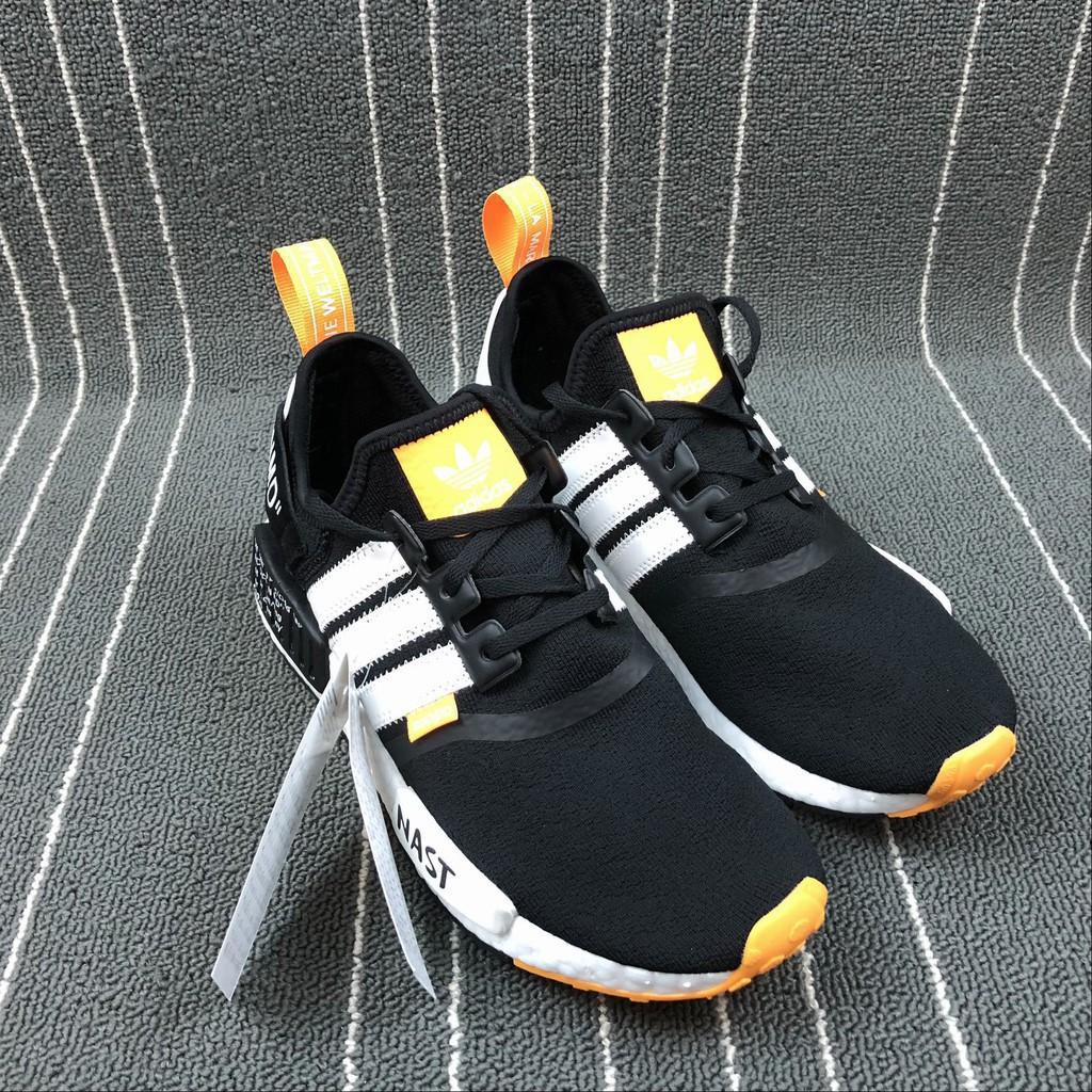 รองเท้าวิ่งOriginal Off White X Adidas Nmd รองเท้าผ้าใบลําลอง