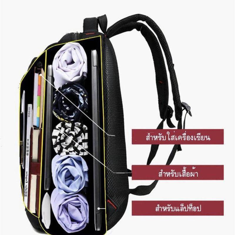 กระเป๋าเป้ผู้ชาย Backpack กระเป๋าเป้สะพายหลังผู้ชาย กันน้ำได้กระเป๋าเป้ เป้แฟชั่นสุดฮิต กระเป๋าเดินทาง แบคแพ็ค M29