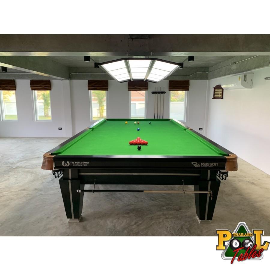 โต๊ะสนุกเกอร์แรสสันรุ่นแม็กนัม 2 มาตรฐานแข่งขันมืออาชีพ 12 ฟุต Rasson Magnum II Snooker Table 12ft