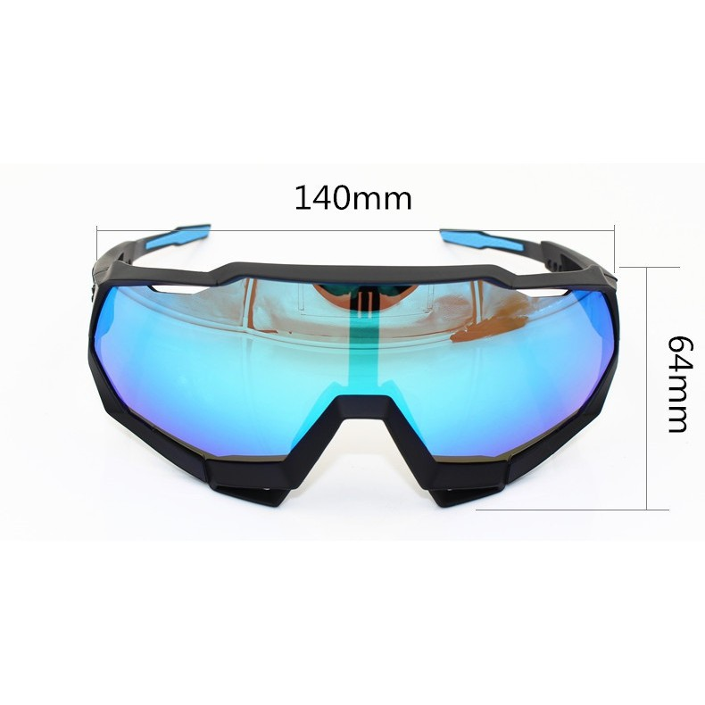Photochromic Trap Sports Goggles, Cycling Glasses, Bicycle Equipment