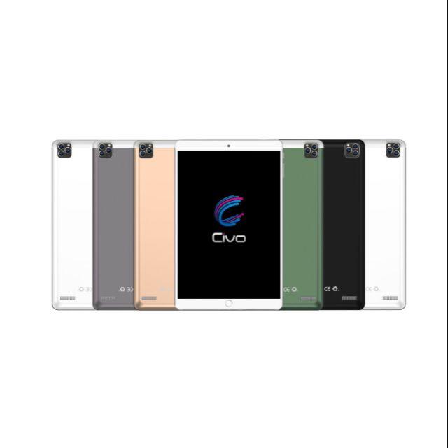 แท็บเล็ต Civo Sport 1 จอ 10 นิ้ว รองรับ 2 ซิมการ์ด 3G/4G เพิ่ม Mem ได้ 128GB รับประกัน 1 ปี