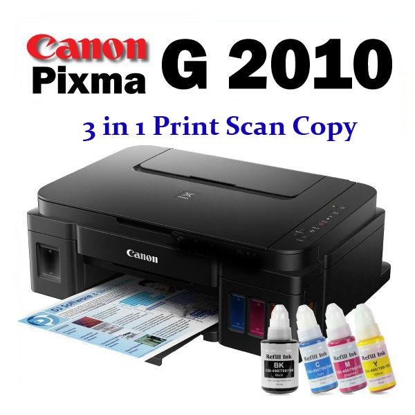 ปริ้นเตอร์ 3 in 1 CANON PIXMA G2010 + INK TANK ( Print Scan Copy)