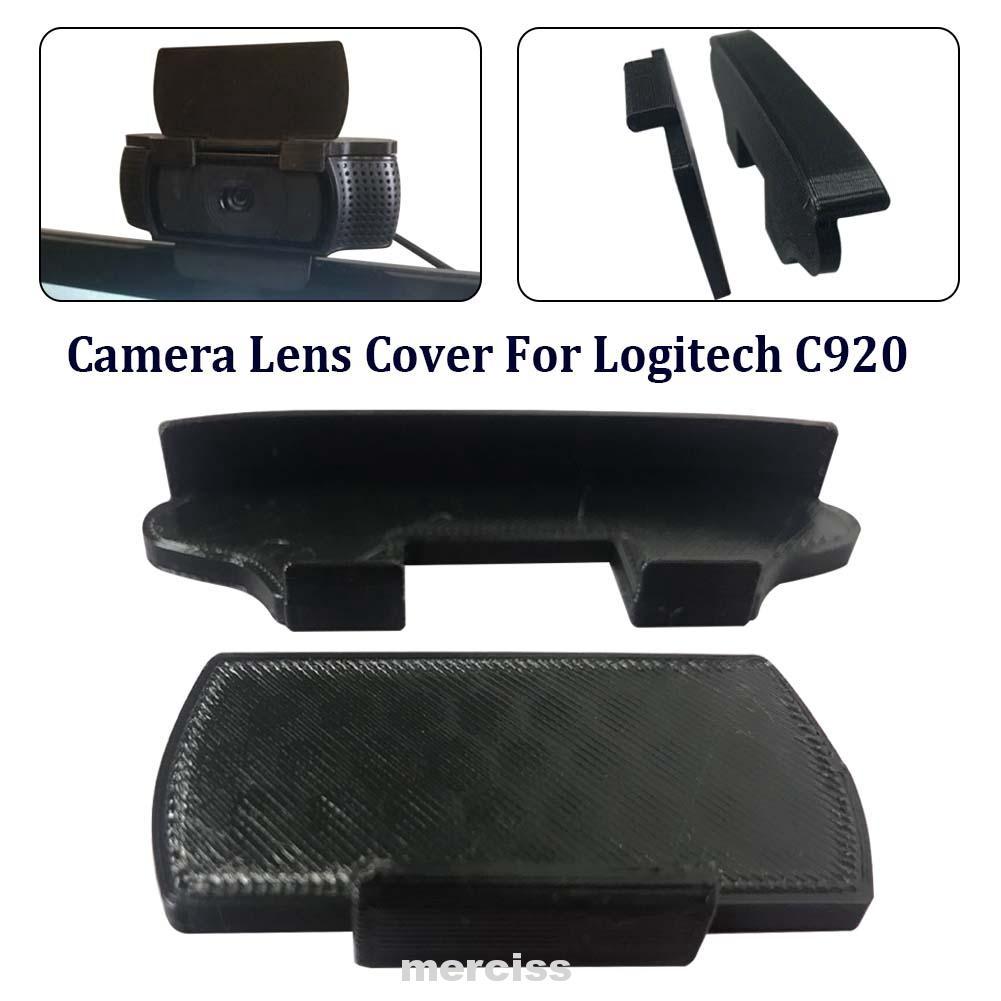 กล้องเว็บแคมเลนส์สีดําน้ําหนักเบาแบบพกพาป้องกันรอยขีดข่วนสําหรับ logitech c 920