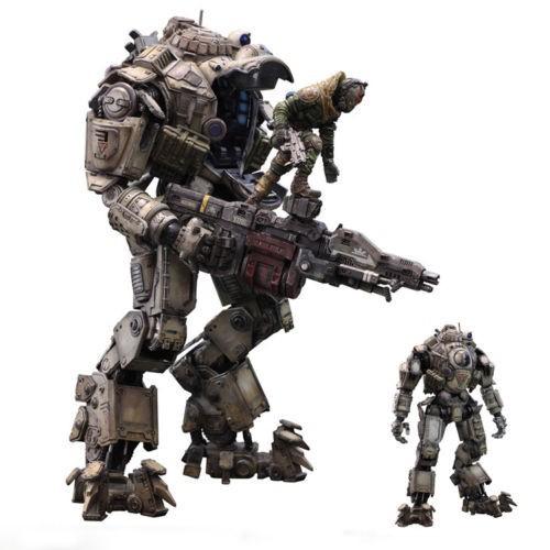 "10/"" Titanfall ATLAS Action Figure Titan Pilot Battle Mech KAI Play Arts Toy Gift"